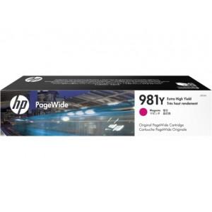 HP 981Y High Yield Magenta Original PageWide Cartridge