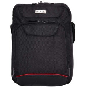 BLACK - BUSINESS EXECUTIVE - SHOULDER SLING NOTEBOOK BAG
