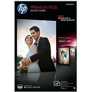 HP PREMIUM PLUS GLOSSY PHOTO PAPER 300 G/M-25 SHT/10 X 15 CM