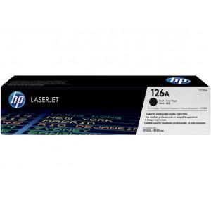 HP 126A Color LaserJet CP1025 BLACK PRINT CARTRIDGE.