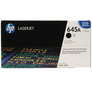 HP 645A Color LaserJet 5500 BLACK PRINT CARTRIDGE.