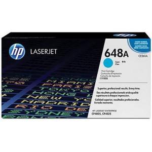 HP 648A Color LASERJET CP4525/CP4025 CYAN PRINT CARTRIDGE.