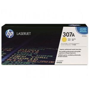 HP 307A COLOR LASERJET CP5225 YELLOW PRINT CARTRIDGE.