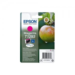 EPSON - INK - T1293 - MAGENTA - APPLE - STYLUS SX425W / SX525WD / BX305F / BX320FW / BX625FWD