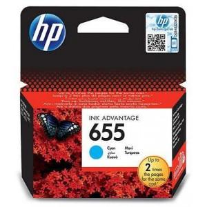 HP 655 Cyan Ink Advantage Cartridge