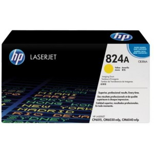 HP 824A COLOR LASERJET CM6040/CP6015 MFP YELLOW IMAGE DRUM.
