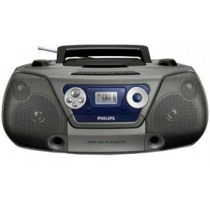PHILIPS AZ1852 CD SOUNDMACHINE USB TAPE