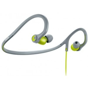 Philips SHQ4300LF ActionFit Sports Neckband Headphone - Lime