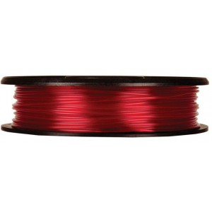 MakerBot Small Translucent Red PLA