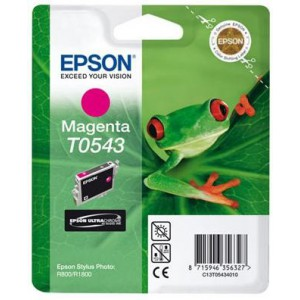 Epson T0543 Magenta Ink Cartridge (Frog)