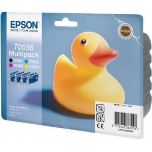 Epson T0556 Multipack Ink Cartridge (Duck)