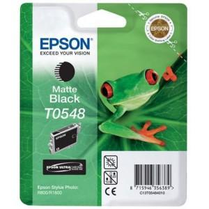 Epson T0548 Matte Black Ink Cartridge (Frog)