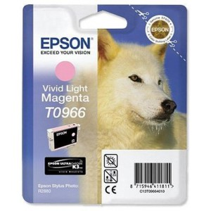 Epson T0966 Vivid Light Magenta Ink Cartridge (Husky)