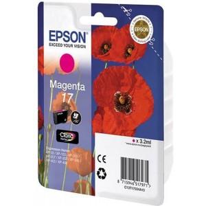Epson 17 Claria Home Ink Magenta Cartridge (Poppy)