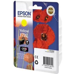 Epson 17 Claria Home Ink Yellow Cartridge (Poppy)