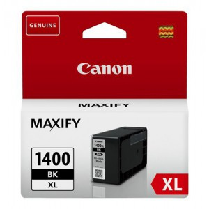 Canon: PGi-1400XL Black Ink Maxify Cartridge with yield of 1500 pages
