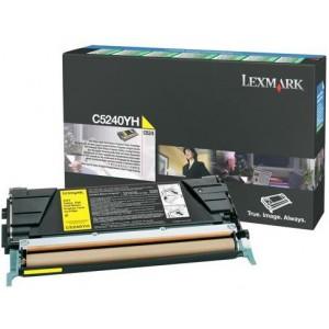 LEXMARK C524 Yellow Return Program Cartridge
