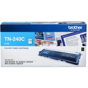 Brother TN-240C Laser Toner Cartridge - Cyan