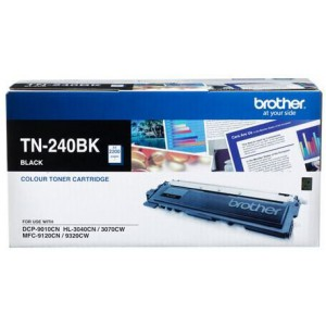 Brother TN-240BK Laser Toner Cartridge - Black