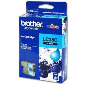 BROTHER CYAN INK CARTRIDGE - DCP145 / DCP165C / DCP-195C / MFC255CW / MFC250C / DCP375CW