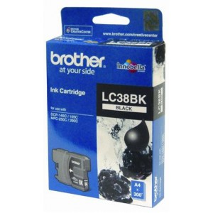 BROTHER BLACK INK CARTRIDGE - DCP145 / DCP165C / DCP-195C / MFC255CW / MFC250C / DCP375CW