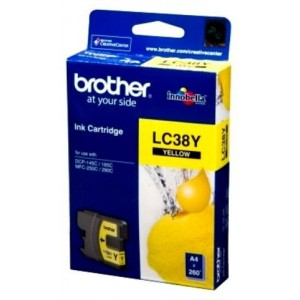 BROTHER YELLOW INK CARTRIDGE - DCP145 / DCP165C / DCP-195C / MFC255CW / MFC250C / DCP375CW