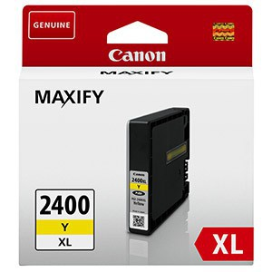 Canon PGi-2400XL Yellow Ink Maxify Cartridge with yield of 1500 pages