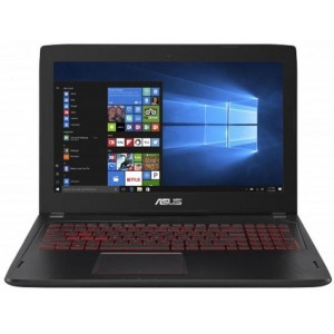 Asus Core i7-7700HQ l 8GB OB l 1TB 72R+ 128G SSD l Windows 10 SL l  15.6 FHD WV l GTX 1050 Ti 4GB Notebook