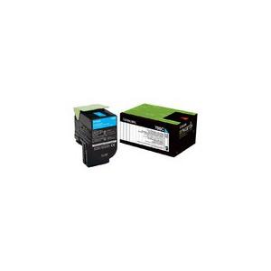LEXMARK 708C CS310 / CS410 / CS510 Cyan Return Program Toner Cartridge