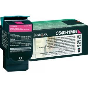 LEXMARK C54X X54X Magenta High Yield Return Programme Toner Cartridge