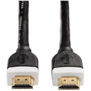HAMA - HDMI HIGH SPEED CABLE GOLD-PLATED DOUBLE SHIELDED ETHERNET 3M