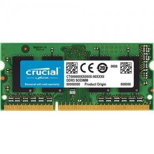 Crucial CT25664BF160B.C8FKD 2GB DDR3L 1600MHz CL11 1.35V SODIMM Notebook Memory