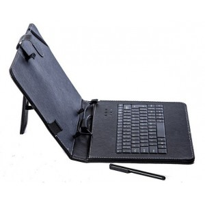 "7'' to 8""'' Keyboard With Universal Case - Black"