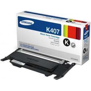 Samsung CLT-K407S Black Laser Toner Cartridge