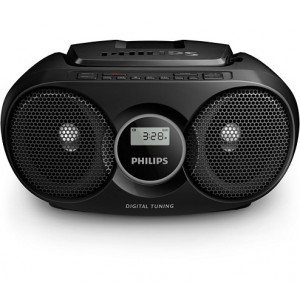 PHILIPS AZ215B CD SOUNDMACHINE - BLACK