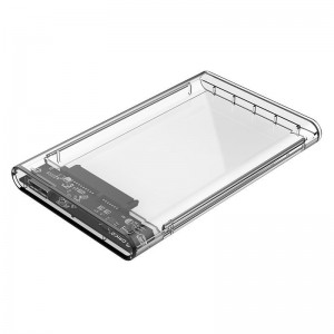 Orico 2.5 USB3.0 External HDD Enclosure Transparent