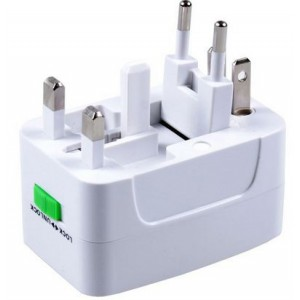 All-in-one International Travel Power Charger Adapter Plug