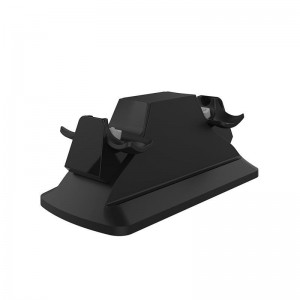 SparkFox Dual Controller Charging Station Black - PS4