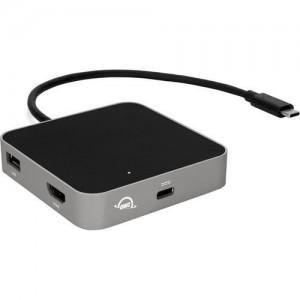 OWC USB-C Travel Dock 1xUSB3.1|1xSD Card 1xHDMI Space Grey
