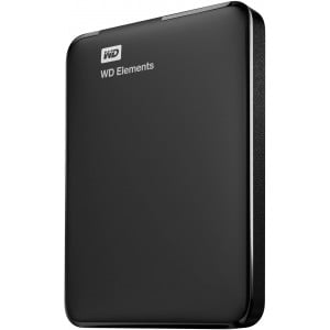Western Digital ELEMENTS PORTABLE 2.0TB USB3.0 HDD - BLACK