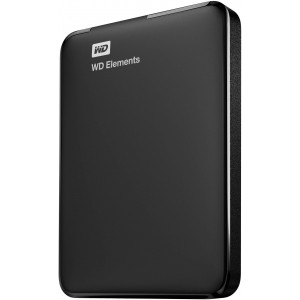 Western Digital ELEMENTS PORTABLE 3.0TB USB3.0 HDD - BLACK