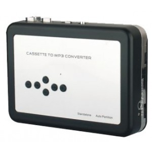 EZCAP 231 Cassette to MP3 Converter with auto-reverse