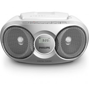 PHILIPS AZ215S CD SOUNDMACHINE - SILVER