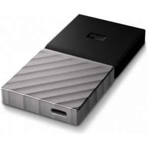Western Digital MY PASSPORT SSD 256GB USB3.0 HDD - Black & Silver