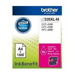 Brother LC535XLM High Yield Magenta Ink Cartridge