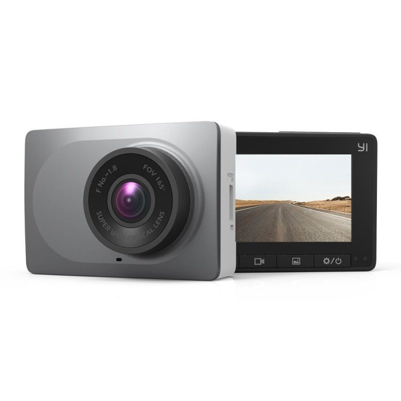 """YI 2.7"""" Smart Dashboard Camera Full HD 1080P60 165 Wide Angle with G-Sensor WDR Loop Recording"""