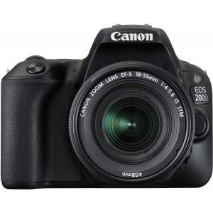CANON EOS 200D BLACK 18-55