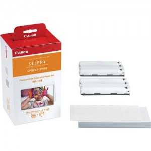 CANON RP-108 IN SELPHY PHOTO PAPER