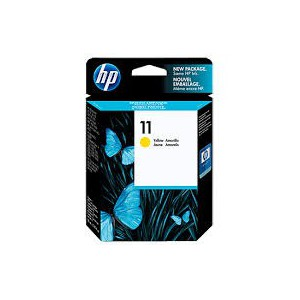 HP 11 YELLOW INKJET PRINT CARTRIDGE (28 ML)
