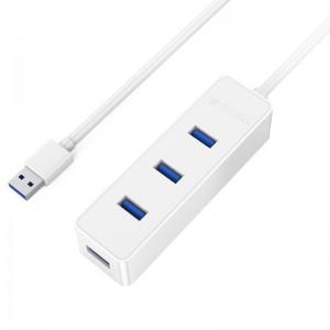 Orico W5PH4-U3-V1-WH-PRO 4 Port USB3.0 Hub White Antique white